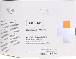 Voňavky, Parfémy, kozmetika Antioxidačná liftingová maska na tvár a krk - Symbiosis London Anti-oxidising And Lifting Face & Neck Mask