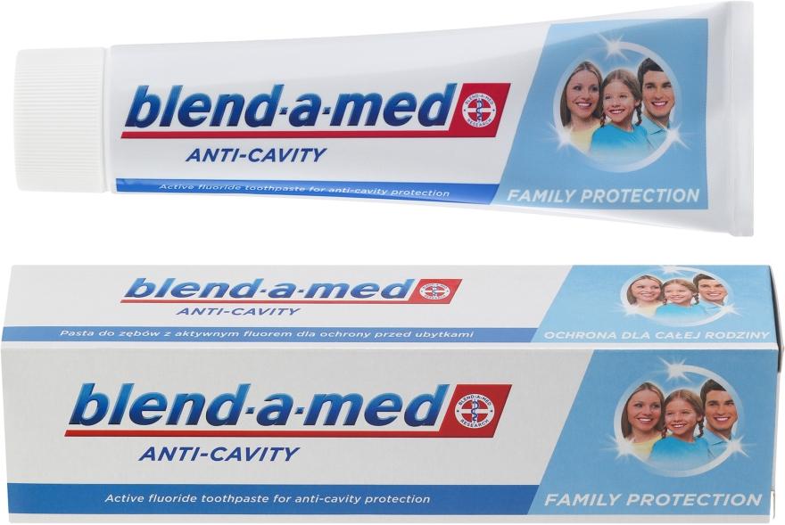 "Zubná pasta ""Anti-kaz"" pre celú rodinu - Blend-a-med Anti-Cavity Family Protect Toothpaste"
