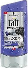 Voňavky, Parfémy, kozmetika Gél na vlasy - Schwarzkopf Taft Looks Titan Look Extreme Gel Radically Strong