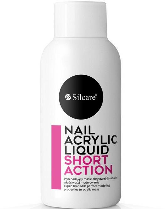 Akrylová tekutina na nechty - Silcare Nail Acrylic Liquid Standart Shot Action — Obrázky N1