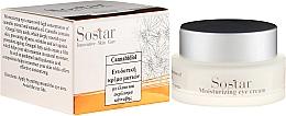 Voňavky, Parfémy, kozmetika Hydratačný očný krém s konopným extraktom - Sostar Cannabisoil Moisturizing Eye Cream of Cannabis Extract