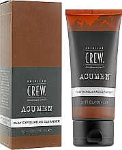 Voňavky, Parfémy, kozmetika Exfoliačný čistiaci prostriedok s hlinou - American Crew Acumen Clay Exfoliating Cleanser
