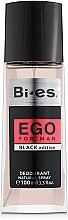 Voňavky, Parfémy, kozmetika Bi-Es Ego Black Edition - Parfumovaný dezodorant v spreji
