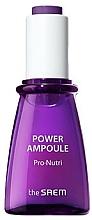 Voňavky, Parfémy, kozmetika Ampulkové sérum na výživu a hydratáciu tváre - The Saem Power Ampoule Pro-nutri