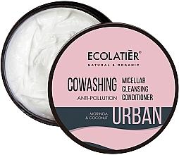 """Voňavky, Parfémy, kozmetika Micelárny balzam na vlasy """"Moringa a kokos"""" - Ecolatier Urban Micellar Cleansing Conditioner"""