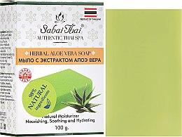 Voňavky, Parfémy, kozmetika Mydlo s extraktom z aloe vera - Sabai Thai Herbal Aloe Vera Soap