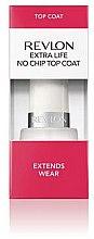 Voňavky, Parfémy, kozmetika Fixator pre lak - Revlon Extra Life No Chip Top Coat Extends Wear