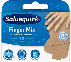 Voňavky, Parfémy, kozmetika Náplasť na prsty na rukách a nohách - Salvequick Finger Mix