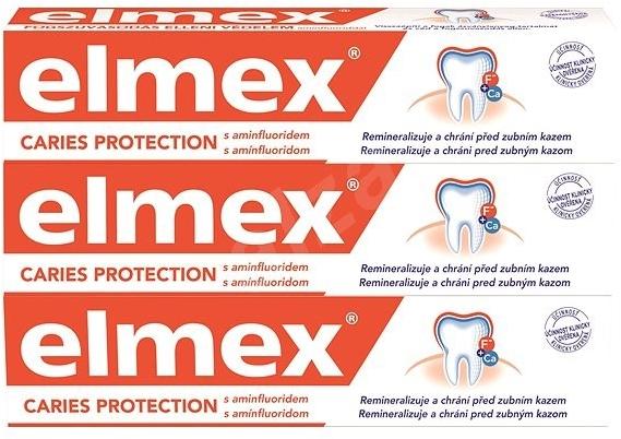 Sada - Elmex Toothpaste Caries Protection (toothpaste/3x75ml) — Obrázky N2