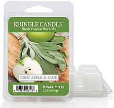 Voňavky, Parfémy, kozmetika Aromatický vosk - Kringle Candle Wax Crisp Apple & Sage