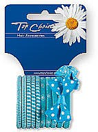 Voňavky, Parfémy, kozmetika Gumička do vlasov 12 ks, 22067 - Top Choice