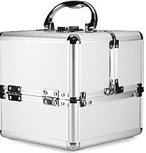Voňavky, Parfémy, kozmetika Kozmetický kufrík, strieborný - NeoNail Professional