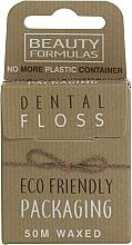 Voňavky, Parfémy, kozmetika Ekologická voskovaná zubná niť - Beauty Formulas Eco Friendly Dental Floss