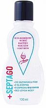 Voňavky, Parfémy, kozmetika Antibakteriálna tekutina na ruky s vôňou mäty - Septago Gel