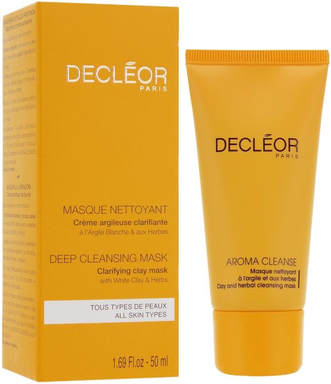 Čistiaca maska na tvár - Decleor Masque A L`Argile Et Aux Herbes — Obrázky N2