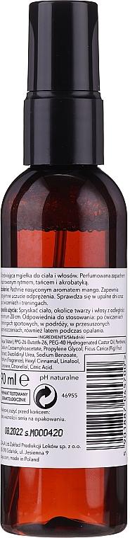 """Sprej na vlasy a telo """"Mango"""" - Ziaja Baltic Home Spa FIT Mango Body and Hair Mist — Obrázky N2"""