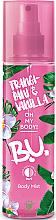 Voňavky, Parfémy, kozmetika Sprej na telo - B.U. Frangipani & Vanilla Body Mist