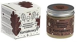 Voňavky, Parfémy, kozmetika Prírodný dezodorant v kréme, koňak - RareCraft Cream Deodorant