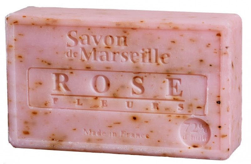 Mydlo - Le Chatelard 1802 Savon de Marseille Rose Fleurs — Obrázky N1