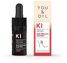 Voňavky, Parfémy, kozmetika Zmes éterických olejov - You & Oil KI-Ear Inflammation Touch Of Welness Essential Oil