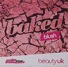 Voňavky, Parfémy, kozmetika Beauty UK Cosmetics Baked Blusher (1 -Popsicle Pink) - Lícenka