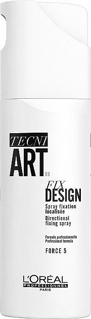 Lak na vlasy - L'oreal Professionnel Tecni.art Fix Design — Obrázky N1