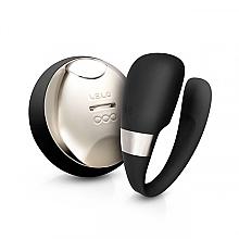 Voňavky, Parfémy, kozmetika Vibračná masáž pre páry, čierna - Lelo Tiani 3 Black