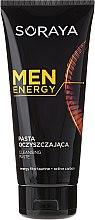 Voňavky, Parfémy, kozmetika Čistiaca pasta na tvár - Soraya Men Energy