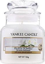 """Voňavky, Parfémy, kozmetika Vonná sviečka """"Nadýchané uteráky"""" - Yankee Candle Fluffy Towels"""