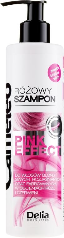"Šampón na blond vlasy ""Pink"" - Delia Cosmetics Cameleo Pink Shampoo"