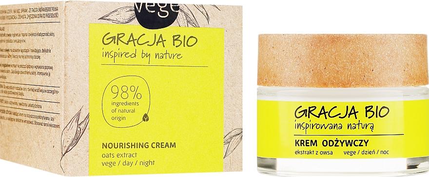 Výživný krém na tvár s výťažkom z ovsa - Gracja Bio Nourishing Face Cream