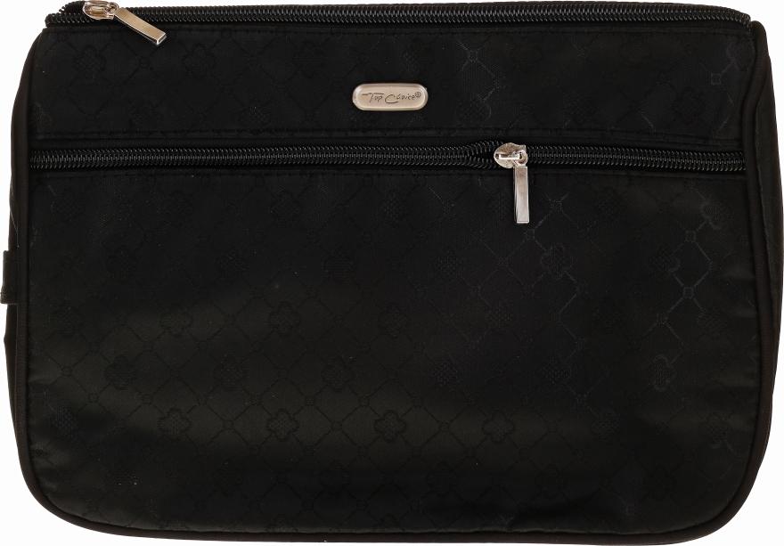 """Kozmetická taška """"Geometric"""" 93760, čierna - Top Choice — Obrázky N1"""