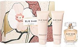 Voňavky, Parfémy, kozmetika Elie Saab Le Parfum - Sada (edp/50ml + b/lot/75ml + sh/cr/75ml)