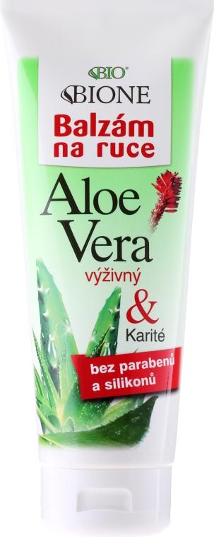 Balzam na ruky hydratačný - Bione Cosmetics Aloe Vera Nourishing Hand Ointment With Collagen