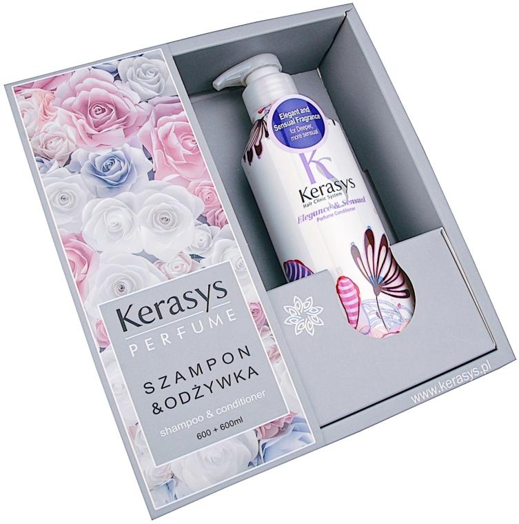 Sada - KeraSys Elegance & Sensual Perfumed (shm/600ml + cond/600ml)