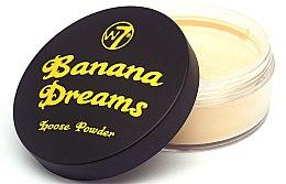 Voňavky, Parfémy, kozmetika Sypký prášok - W7 Banana Dreams Loose Powder