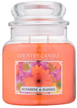 "Vonná sviečka ""Slnko a sedmokrásky"" (Tuba) - Country Candle Sunshine & Daisies — Obrázky N1"