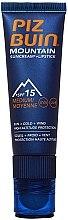 Voňavky, Parfémy, kozmetika Ochranný krém na tvár a pery - Piz Buin Mountain Sun Cream Plus Lipstick SPF15