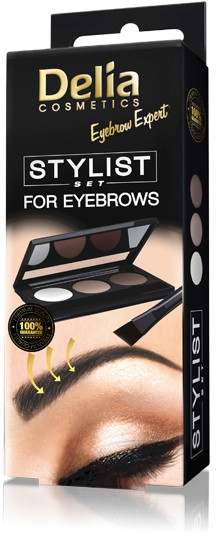 Sada pre styling obočia - Delia Cosmetics Eyebrow Expert Stylist Set