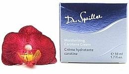 Voňavky, Parfémy, kozmetika Hydratačný krém na tvár s karoténom - Dr. Spiller Moisturizing Carotene Cream