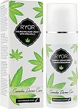 Voňavky, Parfémy, kozmetika Výživný krém z konopných kmeňových buniek - Ryor Cannabis Derma Care Nourishing Hemp Cream With Stem Cells