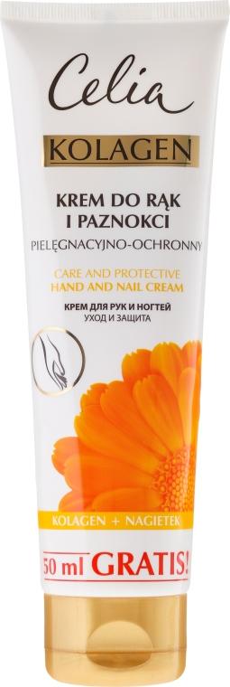 Krém na ruky - Celia Collagen Cream Hand and Nail Care
