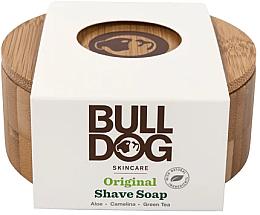 Voňavky, Parfémy, kozmetika Mydlo na holenie v bambusovej mydlovej miske  - Bulldog Skincare Original Shave Soap In A Bamboo Bowl