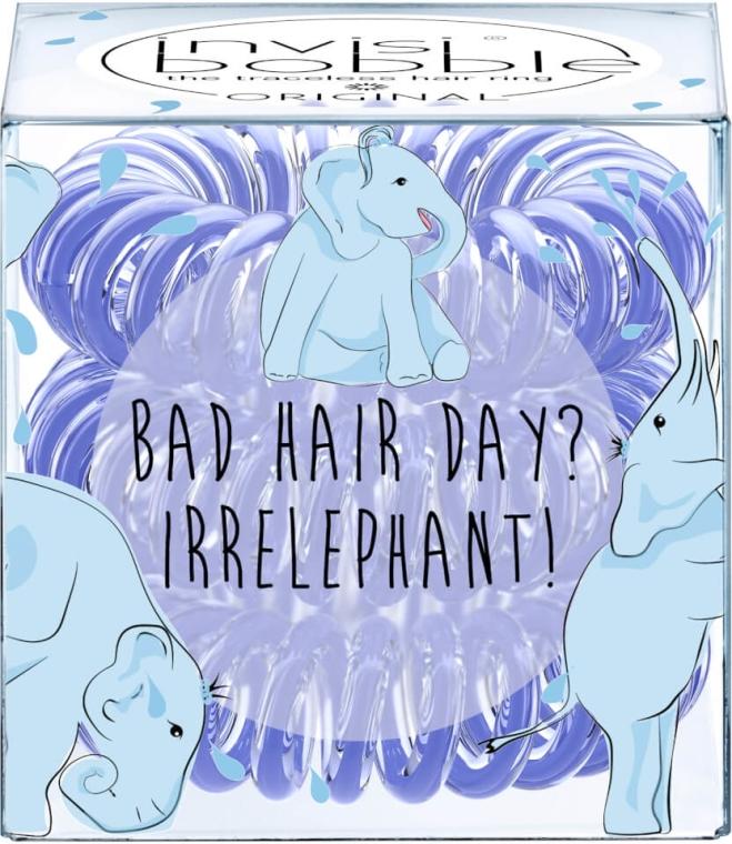 Gumička do vlasov - Invisibobble Bad Hair Day? Irrelephant!