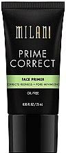 Voňavky, Parfémy, kozmetika Primer proti začerveneniu vyrovnávajúcej pleti - Milani Prime Correct Redness + Pore-Minimizing Face Primer