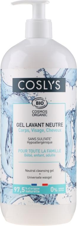 Univerzálny gél na tvár, ruky, telo a vlasy (pre dojčatá, deti i dospelých) - Coslys Universal Cleansing Gel
