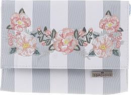 """Kozmetická taška so zrkadlom """"Chaplet"""", 96501, modrá - Top Choice — Obrázky N1"""