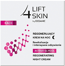 Voňavky, Parfémy, kozmetika Nočný krém - Lift4Skin Active Glycol Regenerating Night Cream