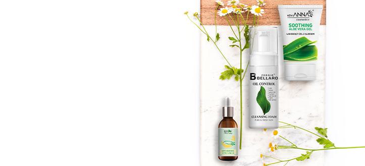Zľava 10% na celý sortiment New Anna Cosmetics, Fergio Bellaro a EcoU. Ceny na stránke sú uvedené so zľavou