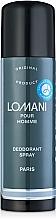 Voňavky, Parfémy, kozmetika Parfums Parour Lomani - Dezodorant